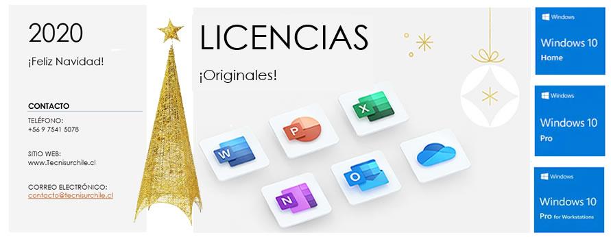 Licencias Originales